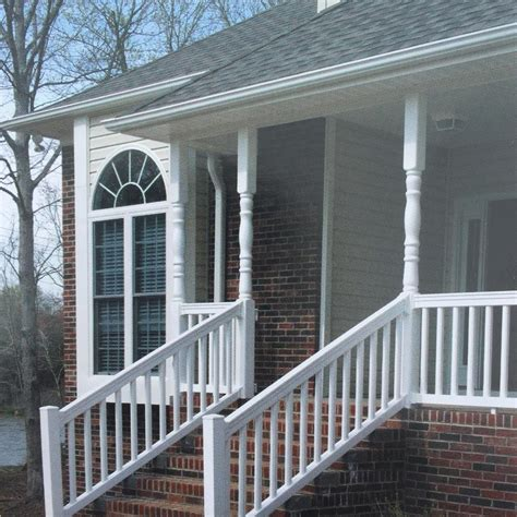 Porch Handrails by Tips For Finding Low Maintenance Porch Railings