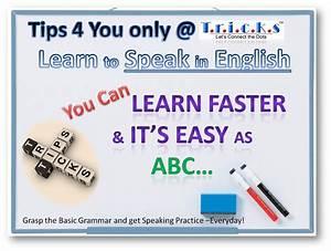 Tricks for Learning to Speak in English   Tricks4English BLOG