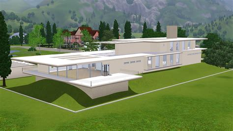 house plans and design modern house designs on sims 3