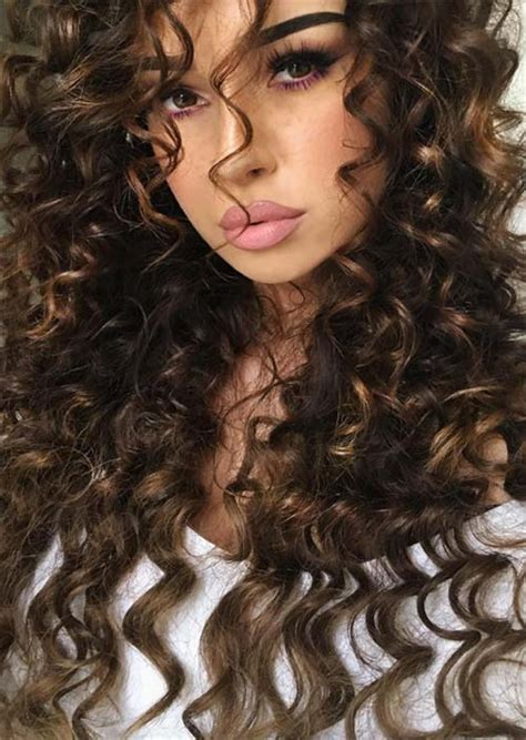 51 chic long curly hairstyles how to style curly hair