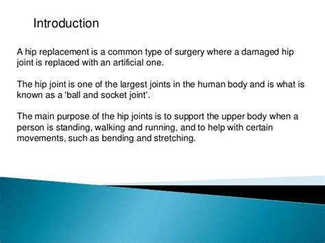 Why Do I Need A Hip Replacement?