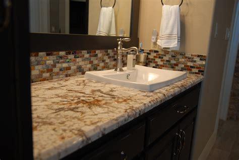 bathroom countertops ideas 30 bathroom countertop granite tile picture
