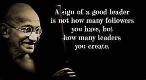 Gandhi as a leader essay