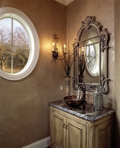 tuscan bathroom designs tuscan powder room bathrooms powder