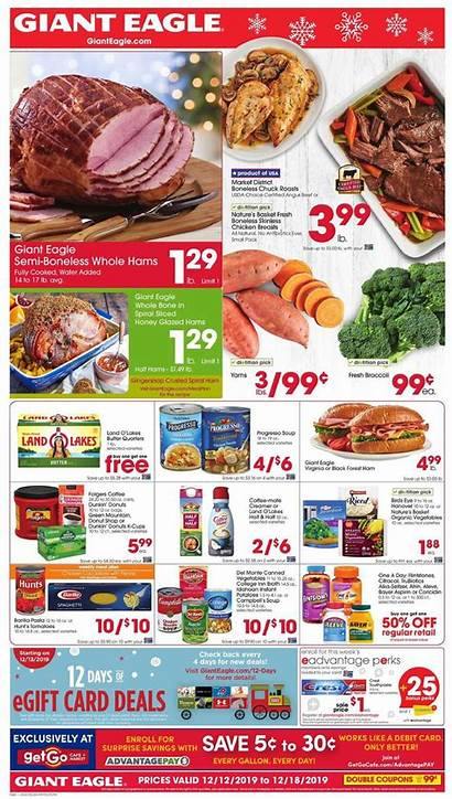 Ad Giant Weekly Eagle Dec December Pa