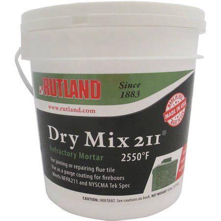 dry mix  refractory mortar tub  lbs