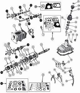 Tremec T176  U0026 T177 Jeep Transmission Parts