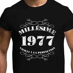 T Shirt 40 Ans : t shirt anniversaire homme achat vente t shirt anniversaire homme pas cher soldes d s le ~ Farleysfitness.com Idées de Décoration
