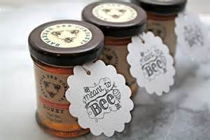 honey wedding favors personalized wedding favor tags honey tags 50 meant to bee
