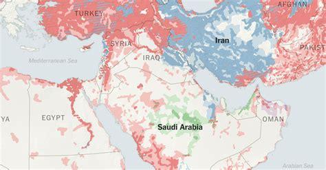 stark political divisions   complex map