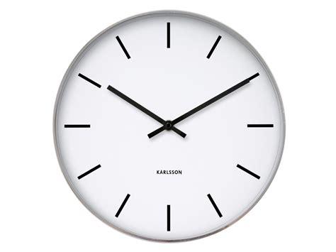 horloge et blanche en métal kollori com