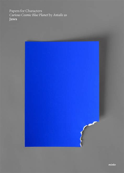 Clever Minimalist Posters Turn Famous Movies Into Paper Art