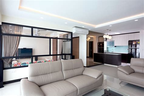 Grey Living Room Hdb by A 5 Room Hdb Bto Flat With A Chic Contemporary Look