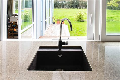 sink trends matte black ecogranit heritage hardware