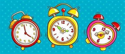 Clock Clipart Alarm Midnight Pop Almost Freepik