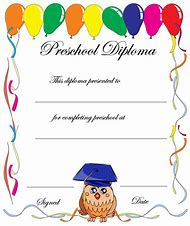 Best 25 ideas about graduation certificate find what youll love printable preschool graduation certificate templates yelopaper Choice Image