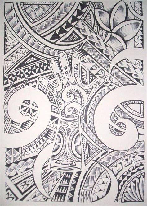 jooli dessin pour tatouage maori polynesien ideas