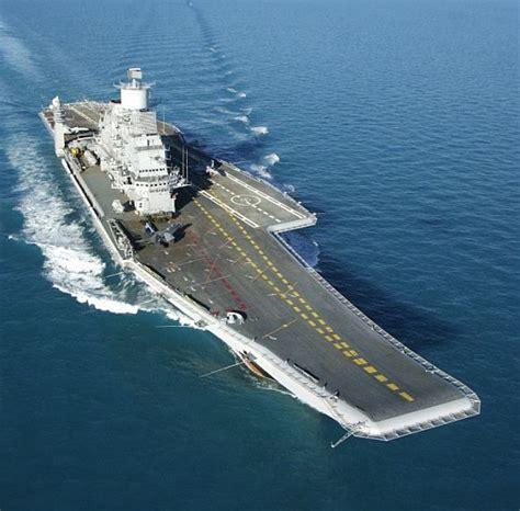 Ins Vikramaditya Sets Out For Final Sea Trials