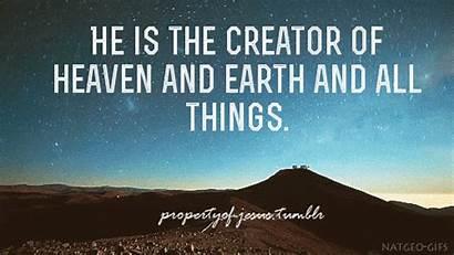 Heaven God Earth Creator Believe