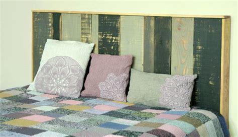idee tete de lit t 234 te de lit en bois esprit cabane idees creatives et ecologiques