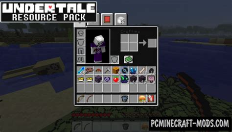 Undertale Resource Pack For Minecraft 1.12.2
