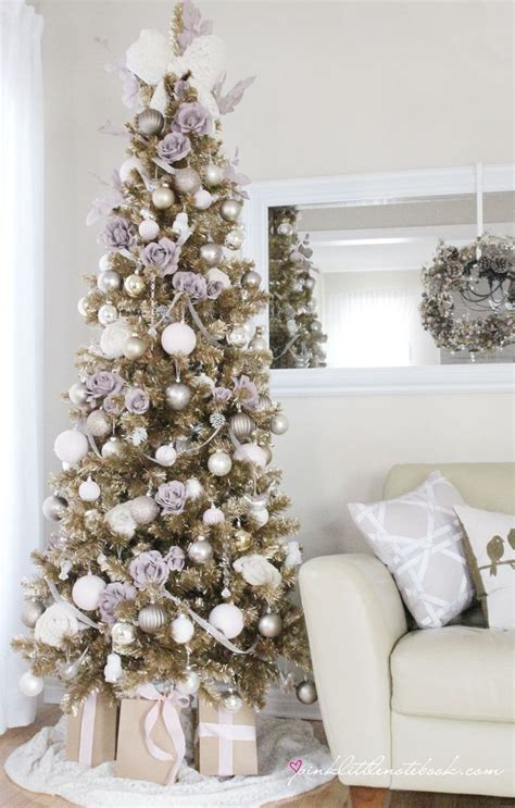 urban barn chagne christmas tree by pink little
