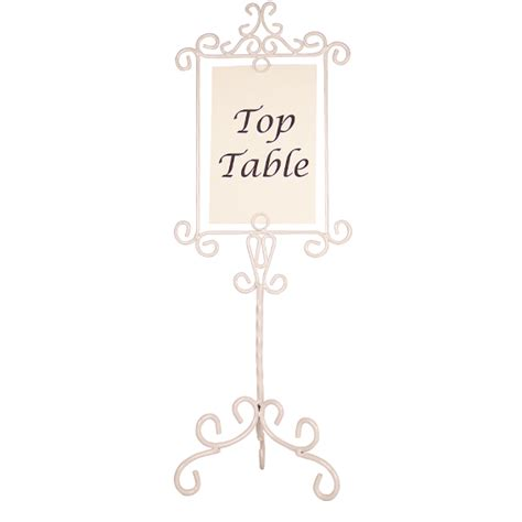 shabby chic table number holders ivory metal vintage swirl wedding table number holder shabby chic new photo ebay
