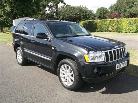 used jeep grand cherokee for sale used jeep grand 2007 model cherokee 3 0 crd overland