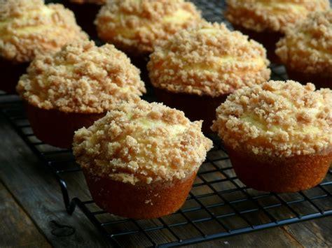 streuseled honey butter breakfast muffins noble pig