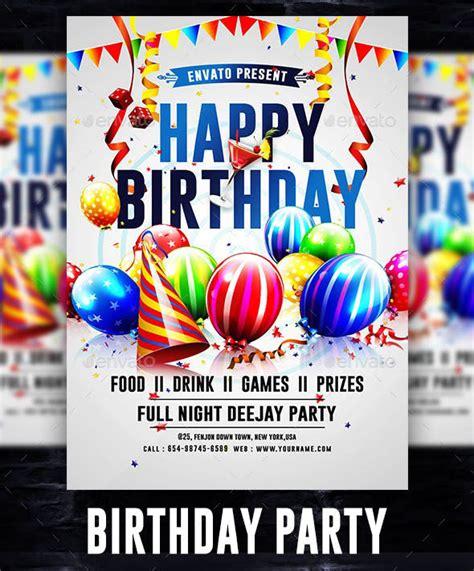 birthday invite templates  psd premium