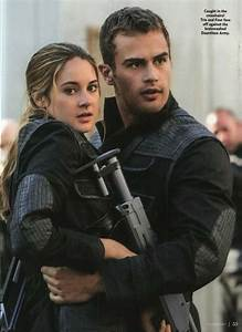 Tris and tobias, Tobias and Divergent on Pinterest