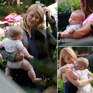 Claire Danes and Baby Cyrus on the Set of Homeland ...