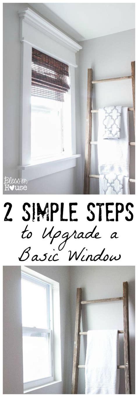 ideas  window moldings  pinterest window casing craftsman window trim