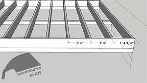 Building A Modern Shed  U2013 Part 2  U2013 Framing The Floor