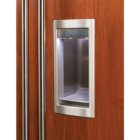 bi sdsth  built  side  side refrigerator  dispenser