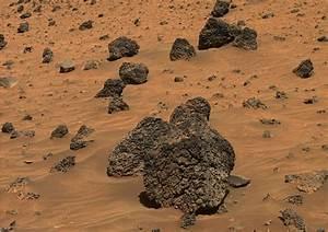 Rocks on Mars: Basalt, Shale, Sandstone, Conglomerate