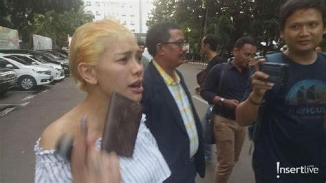 Datangi Polda Nikita Mirzani Siap Dipenjara Lagi