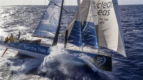 volvo ocean race    world everest  sailing