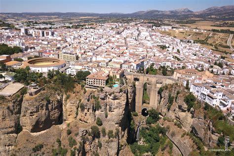 Ronda Malaga Spain Dronestagram