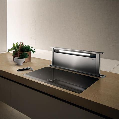 hotte de cuisine 90 cm elica hotte escamotable adagio pour plan de travail