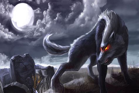 3d Animated Horror Wallpaper - animated scary wolf