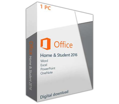 Office Home Student 2016 For Pc by Microsoft Office 2016 Home Student