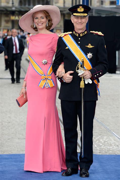 princess mathilde prince philippe princess mathilde  inauguration  king willem