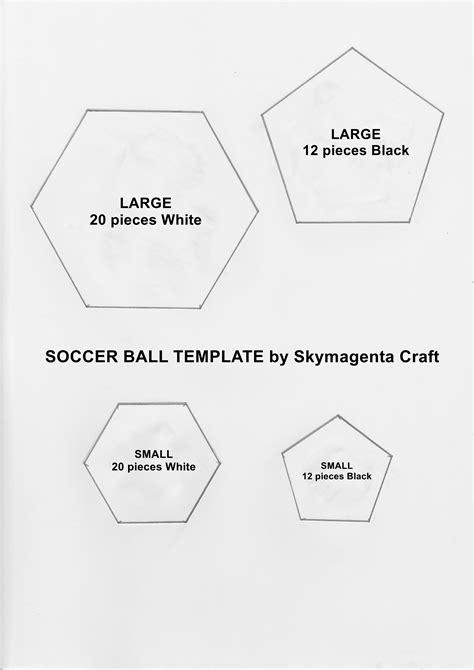 felt craft tutorial soccer ball skymagentas crafty diy