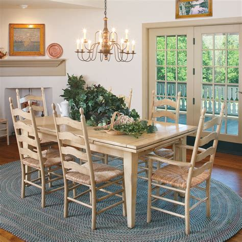 French Country Dining Set  Americanmade Custom Furniture