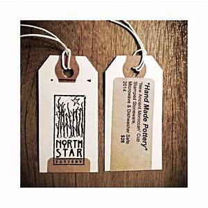 north star pottery hang tag customer ideas With hang tag design online