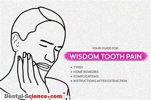 Wisdom Teeth Pain  Best Remedies  Types  U0026 Instructions