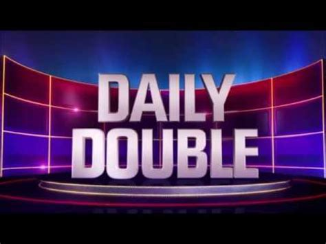 The Daily Double Sound for 10 hours - YouTube