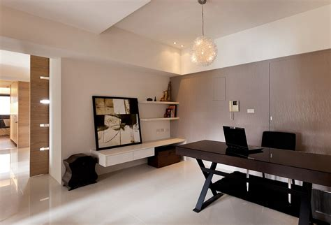 bureau decor modern minimalist decor with a homey flow