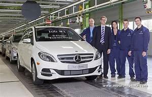 Mercedes Classe B Electrique : la mercedes classe b lectrique entre en production ~ Medecine-chirurgie-esthetiques.com Avis de Voitures